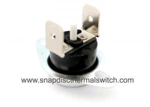 China Vertical Terminal Snap Disc Thermal Switch Bimetal Snap Disc Thermostat on sale