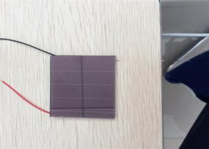 China Professional Custom Solar Panels , Amorphous Silicon Solar Cell 40 X 40 mm on sale