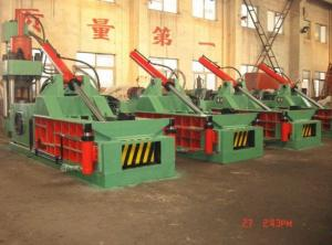 China Horizontal Automatic Hydraulic Metal Scraps Baling Press Machine Y81F-125A on sale