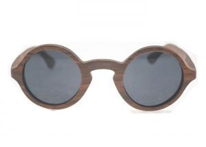 China Солнечные очки рамки круга деревянные с бамбуковым материалом, обслуживанием ОЭМ on sale