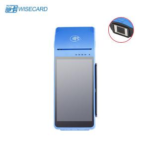 China FBI Android Smart POS Terminal , Mobile Point Of Sale Machine With QR Scanner on sale