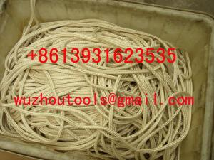 China Clothesline Solid braided rope solid braided cotton sash cord on sale