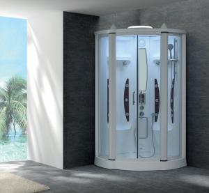 China Suana Steam Generator Sliding Door Steam Shower Room with Foot Massage  G253 on sale