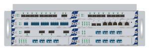 China Multi cartão PCI Express do NIC da fibra da porta de série ao cartão de 4 portas de série on sale