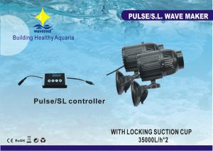 China DC 24V 42W Natual Wave-setting Aquarium Wave Maker With S / L Wave For 500L To 4000L Tanks on sale