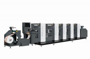 China Shaftless Offset (Alcohol Dampening) Intermittent Rotary Label Printing Machine WJPS350 on sale