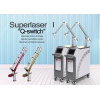 Permanent Q Switch Nd Yag Laser Tattoo Removal Equipment 1 - 8mm Spot Size
