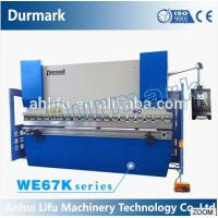 WC67Y-63T2500 CNC bending machine price, plate bending machine
