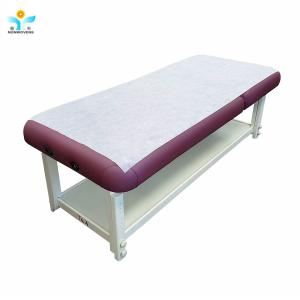 China 15-60gsm fda medical bed sheet roll isolation disposable bedsheet roll disposable non woven fabric on sale