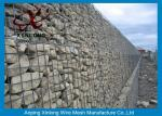 Aluminum-zinc Alloy Cage Gabion Wire Mesh / Hexagonal Gabion Box