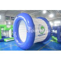 0.9mm PVC Tarpaulin Blue and White Color Inflatable Water Roller