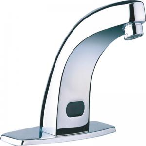 China Automatic Public Polished OEM Brass Sensor Faucet on sale