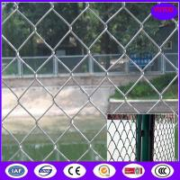ISO9001:2008good quality 3.5mm wire 6 foot chain link fencing