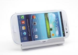 China Grey Motorola Xoom Ipad Stand Holder Mount Foldable Handfree For Mobile Phone / Ipad Air / Ipad Mini on sale