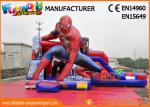 PVC Tarpaulin Commercial Bouncy Castles Spiderman Inflatable Bouncer Slide