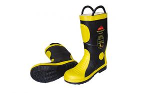 China Comfortable Fire Safety Boots Anti Acid And Alkali Function on sale