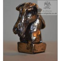 China TPAL-110 art bronze animal sculpture bronze dog statue on sale