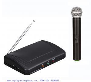 China Микрофон УХФ конкурсного дешевого канала сингел цены ЛС-7100 беспроводной с стиль/микрóфон одн-хандхэльд/СХУРЭ on sale