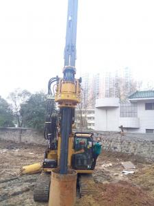 Piledriver Construction Hydraulic Piling Machine , 24m Pile