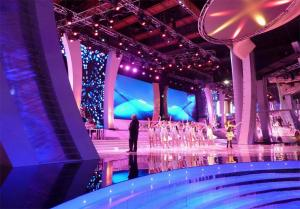 China 1800 mcd electronic Real pixel Ultra Thin indoor stage LED display for Rental on sale