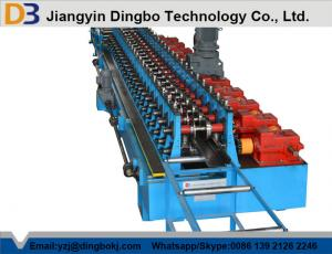 China Door Frame Press Cold Roll Forming Equipment , Steel Roll Former With High Speed on sale