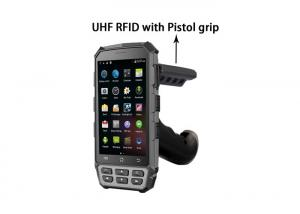 China Waterproof 5.0 Inch Portable Uhf Rfid Reader , Biometric Handheld Terminal BH95 on sale