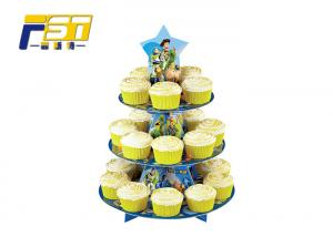 China Superb Appearance Cardboard Wedding Cake Stand With High Load - Bearing Capacity on sale