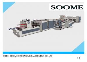 China Automatic High Speed Stitching Folder Gluing Machine For Corrugated Paper Box on sale