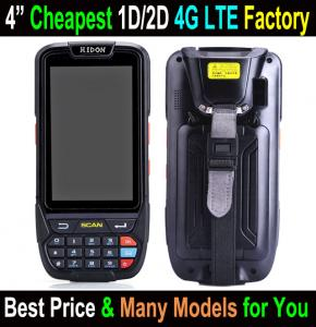 China Hot sale 4 inch handheld terminal with barcode scanner Android 5.1 Rugged Handheld PDA Industrial Mobile Computer on sale