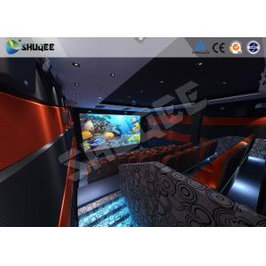 China 30 - 50 grand 5D Digital système de théâtre des personnes avec les sièges dynamiques du mouvement 4D on sale