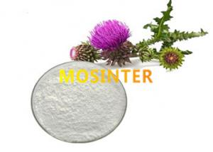 China Milk Thistle Extract Silibinin CAS 22888-70-6 For Medicine And Health Products on sale