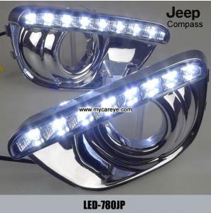 China Jeep Compass DRL LED Daytime Running Lights car exterior led light kit on sale