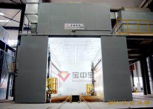 China Water Rotation Painting Booth Spray Booth In Military Vehicle Paint Production Lines on sale