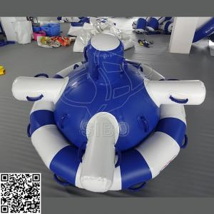 China Water Park Game Inflatable Saturn 0.9mm PVC Tarpaulin With Company Name Printed on sale