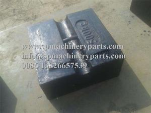 China High precision scales balances calibration certificate Low Price Cast Iron Block Weights within M1 tolerance on sale