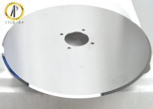 China Yg10x 100% Raw Material Carbide Circular Blade , Paper Cardboard Cutting Blade on sale