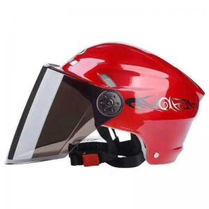 China Retro Motorcycle Helmet Fashion Open Half Face Helmet Electric Motorcycle Keep Warm Safe Helmet With CE Certificate on sale