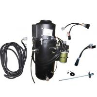 China Diesel Space Engine Coolant Truck Cabin Heater Black 3000 Watt 24V CE Approved on sale