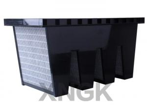 China Gas Phase V Bank Filter for Odor Removing Carbon Particles Inside on sale