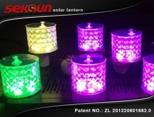 Inflatable Seksun Remote Control Hanging Solar Garden Lanterns With 7 Color