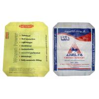 20 Kg Square Bottom PP Woven Packaging Bags 50 Kg Cement Pp Bags With Valve