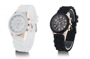 China factory silicone geneva watches china,geneva sport quartz wristwatch on sale