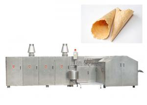 China Auto  Egg Roll Production Line With Double Door , 4500 Standard Cones / Hour on sale