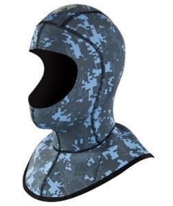 China Custom Camo Diving Helmet, Dive Hood Wholesale on sale