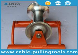 China Straight Line Cable Laying Roller Cable Pulley With Aluminum Wheel on sale