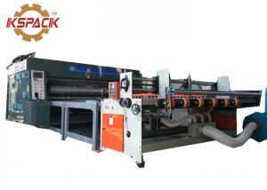 China Carton Corrugated Box Printing Machine , Corrugated Box Making Printing Machine with Auto Feeder on sale
