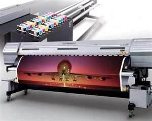 China UV Flatbed Printer with Roll to Roll digital sign printing equipment , UK Curing System on sale