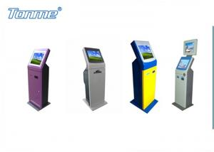 China 17 Inch Payment Ticketing Self Service Kiosk Free Standing In Subway Hotel Cinema on sale