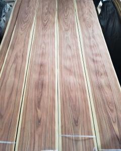 China Santos Natural Veneers Santos Rosewood Veneer Bolivian Rosewood Exotic Veneers for Furniture Doors Plywood Board on sale