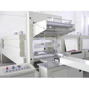 China Chaîne de production de l'eau rétrécissement automatisé de film de PE de bouteille de machines de conditionnement enveloppé on sale